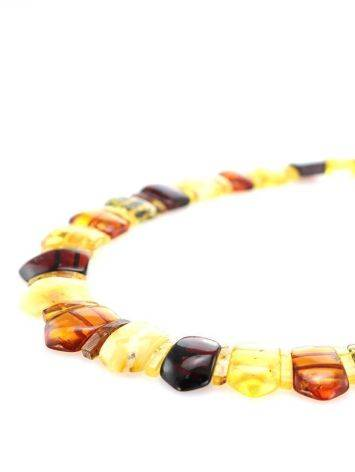 Multicolor Amber Necklace The Cleopatra, image , picture 3