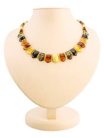 Multicolor Amber Necklace The Cleopatra, image