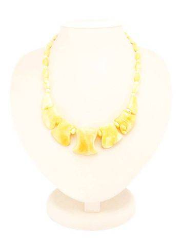 Cloudy Honey Amber Necklace, image