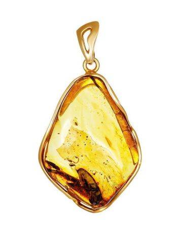 Unique Amber Pendant With Insect Inclusions The Clio, image