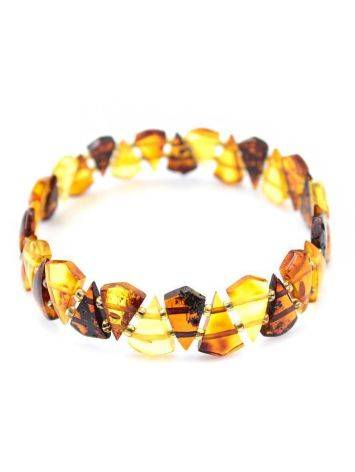Multicolor Amber Elastic Bracelet, image , picture 5