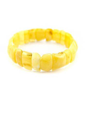 Genuine Honey Amber Stretch Bracelet, image , picture 4