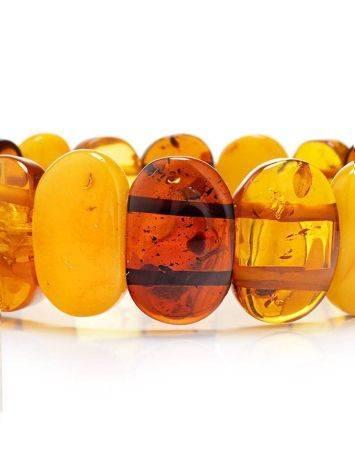Multicolor Amber Stretch Bracelet, image , picture 3