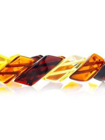 Multicolor Amber Bracelet, image , picture 3
