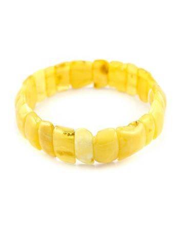 Genuine Honey Amber Stretch Bracelet, image