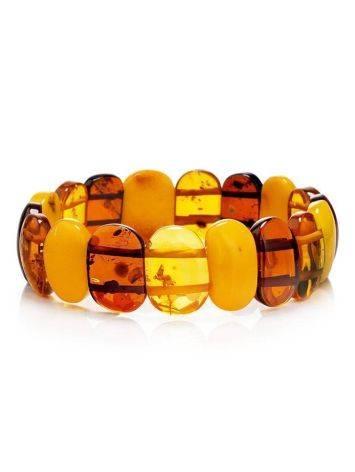 Multicolor Amber Stretch Bracelet, image
