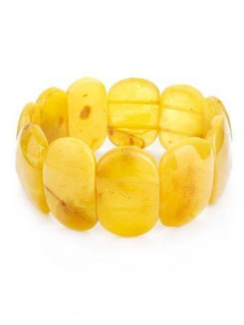 Honey Amber Elastic Bracelet, image