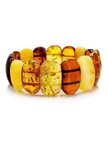 Multicolor Amber Beaded Bracelet, image