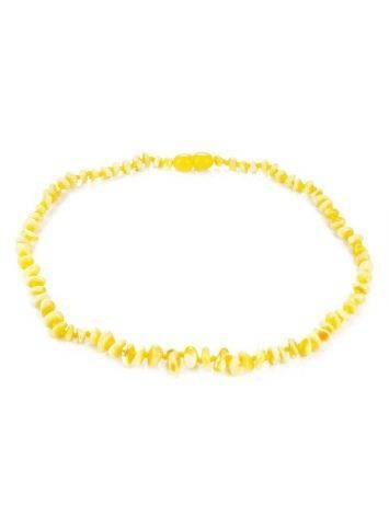 Honey Amber Choker Necklace, image