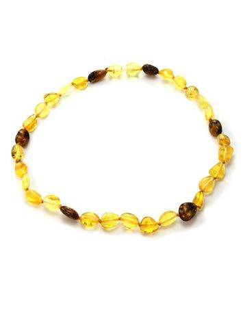 Multicolor Amber Teething Necklace, image