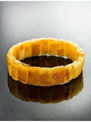 Vintage Style Amber Stretch Bracelet, image , picture 2