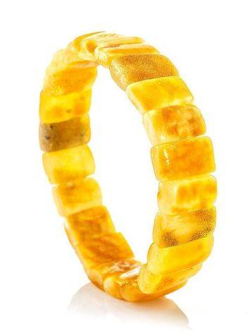 Vintage Style Amber Stretch Bracelet, image , picture 4