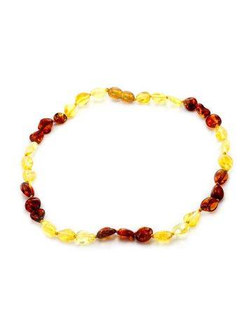 Two-Toned Amber Teething Necklace, image