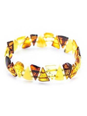 Multicolor Amber Elastic Bracelet, image