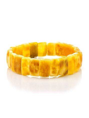 Vintage Style Amber Stretch Bracelet, image