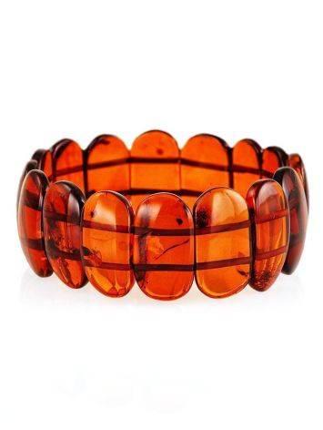 Cherry Amber Stretch Bracelet, image