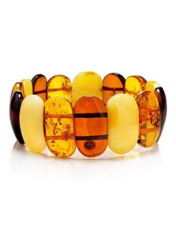 Stylish Amber Stretch Bracelet, image