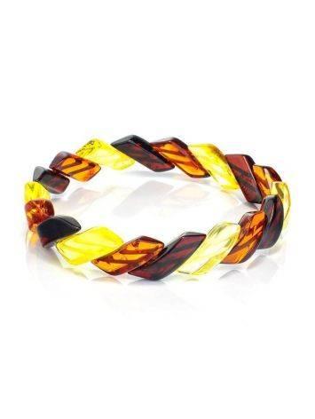 Multicolor Amber Bracelet, image