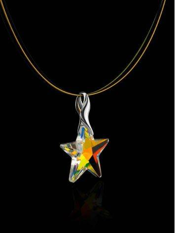 Crystal Star Pendant Necklace The Fame, image , picture 2
