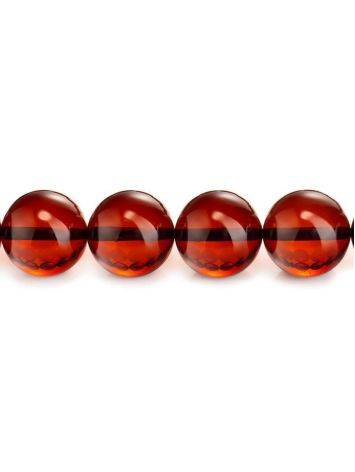 33 Cherry Amber Muslim Prayer Beads, image , picture 3