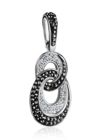 Black And White Crystal Pendant The Eclat, image , picture 4