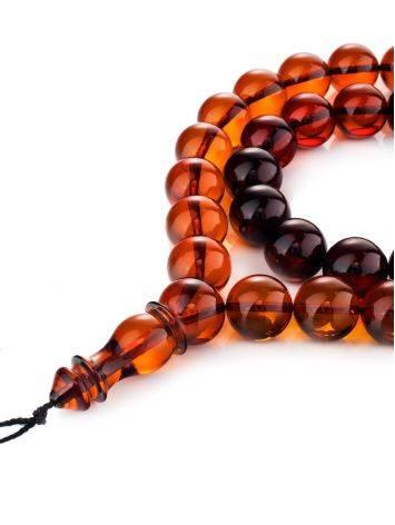 33 Cherry Amber Muslim Prayer Beads, image
