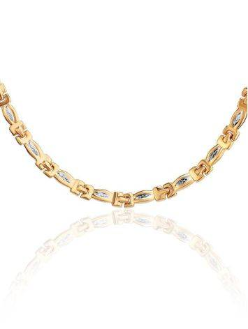 Two Toned Golden Necklace, image