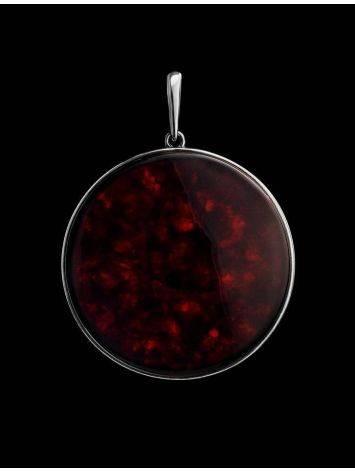 Round Cherry Amber Pendant The Monaco, image , picture 2