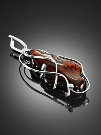 Handcrafted Silver With Cherry Amber The Rialto, image , picture 2