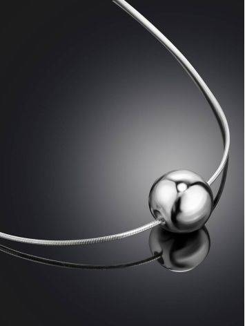 Silver Orb Pendant Necklace The ICONIC, image , picture 2