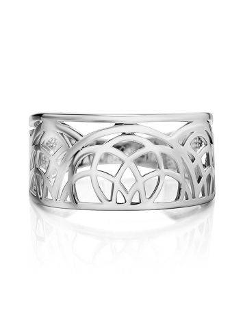 Fabulous Laced Silver Ring The Sacral, Ring Size: 6.5 / 17, image , picture 3