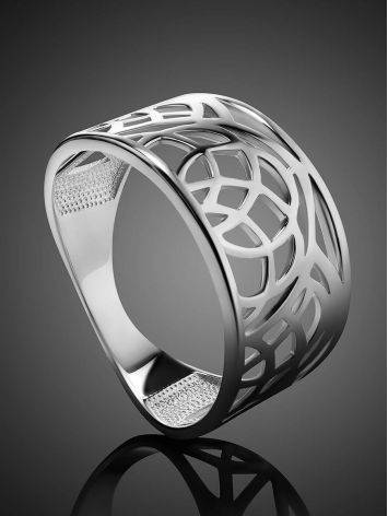 Fabulous Laced Silver Ring The Sacral, Ring Size: 6.5 / 17, image , picture 2