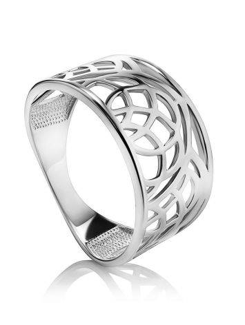 Fabulous Laced Silver Ring The Sacral, Ring Size: 6.5 / 17, image