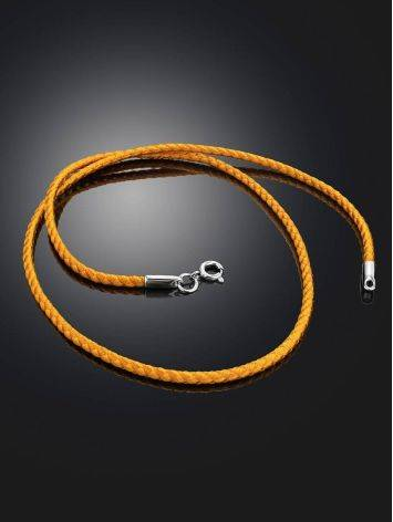 Gold Cord Necklace, Length: 40, image , picture 2