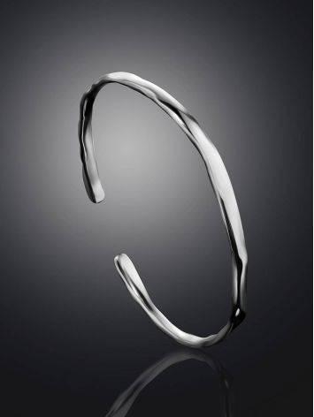 Designer Sterling Silver Bangle The Liquid, image , picture 2